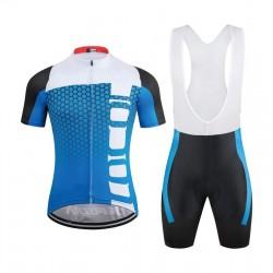 Completo da Ciclismo Blu -...